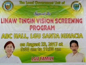 Linaw Tingin Vision Screening Program (1)