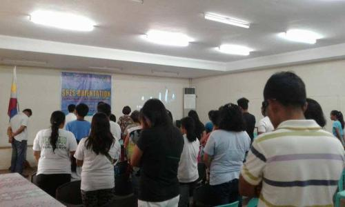 An Orientation to the beneficiaries and guardians of Special Program for the Employment of Students (SPES) Project (22)